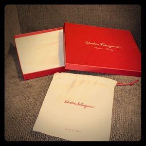 Salvatore Ferragamo collectible box